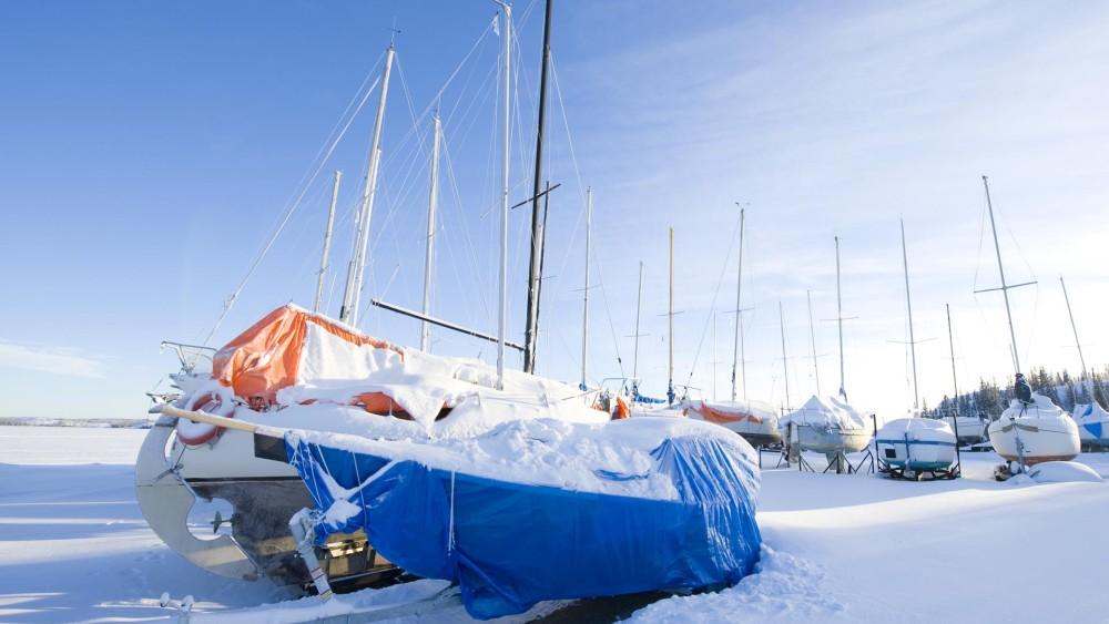 Boot winterklaar maken